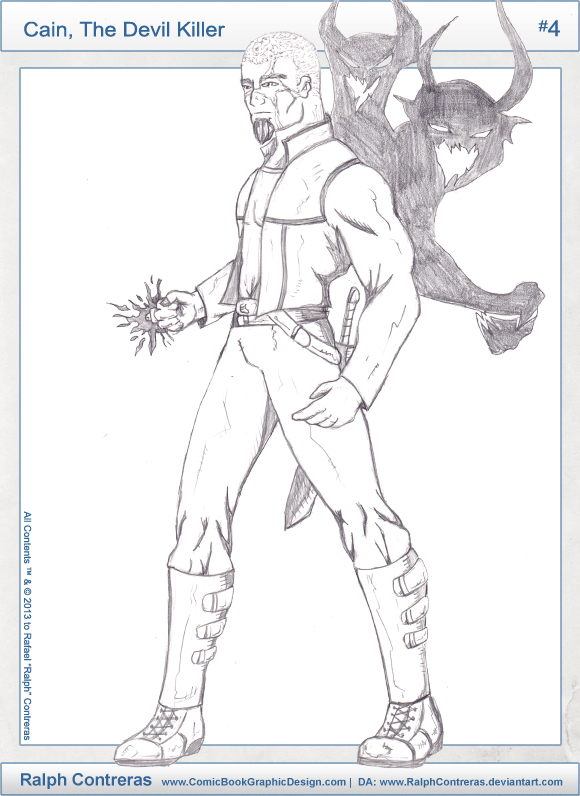 30-Characters-Challenge-2013-04-Cain-The-Devil-Killer-Ralph-Contreras