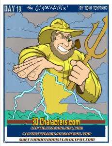 30 characters ol noreaster