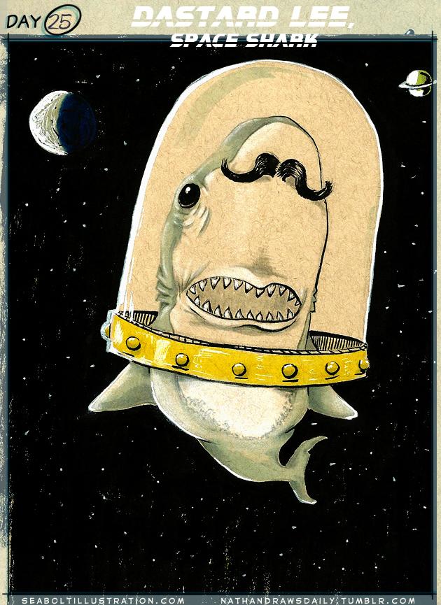 Dastard Lee, Space Shark