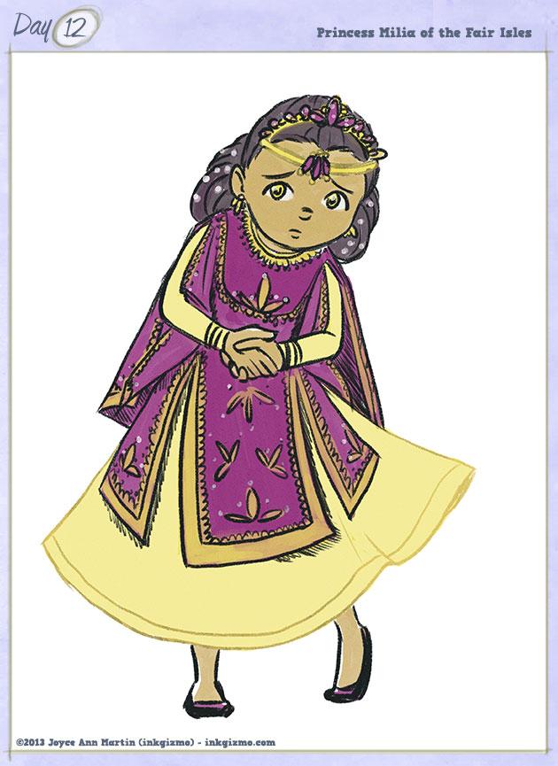 Joyce Ann Martin - 12: Princess Milia of the Fair Isles
