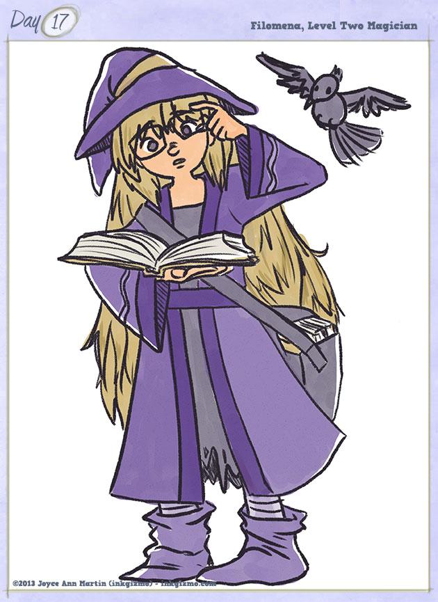 Joyce Ann Martin - 17: Filomena, Level Two Magician