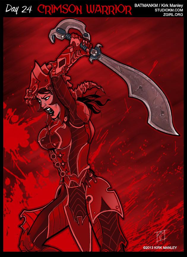 Crimson-Warrior