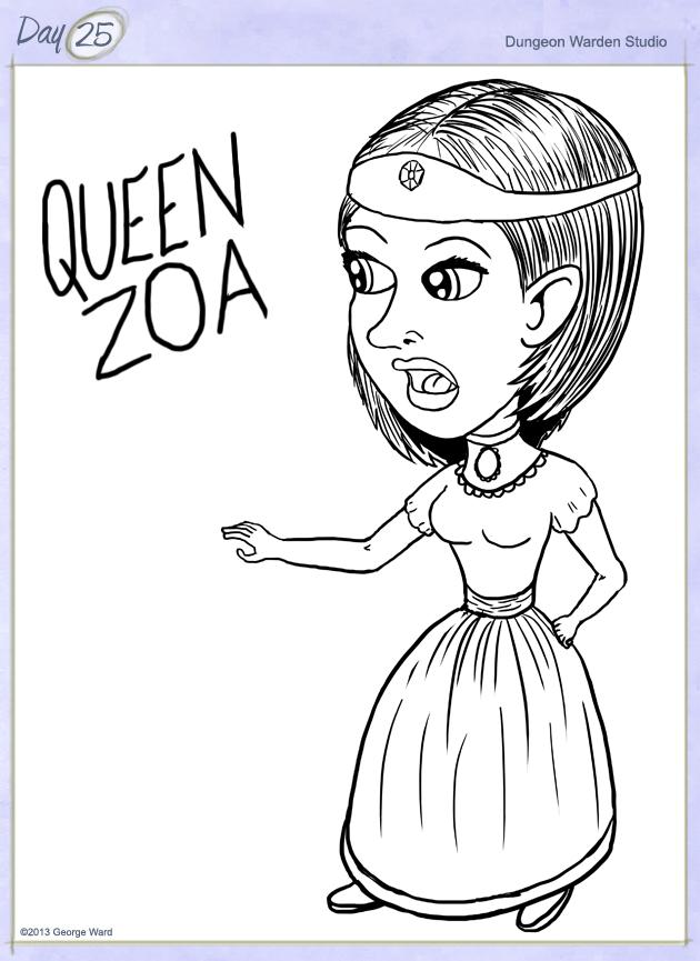 Day25-QueenZoa