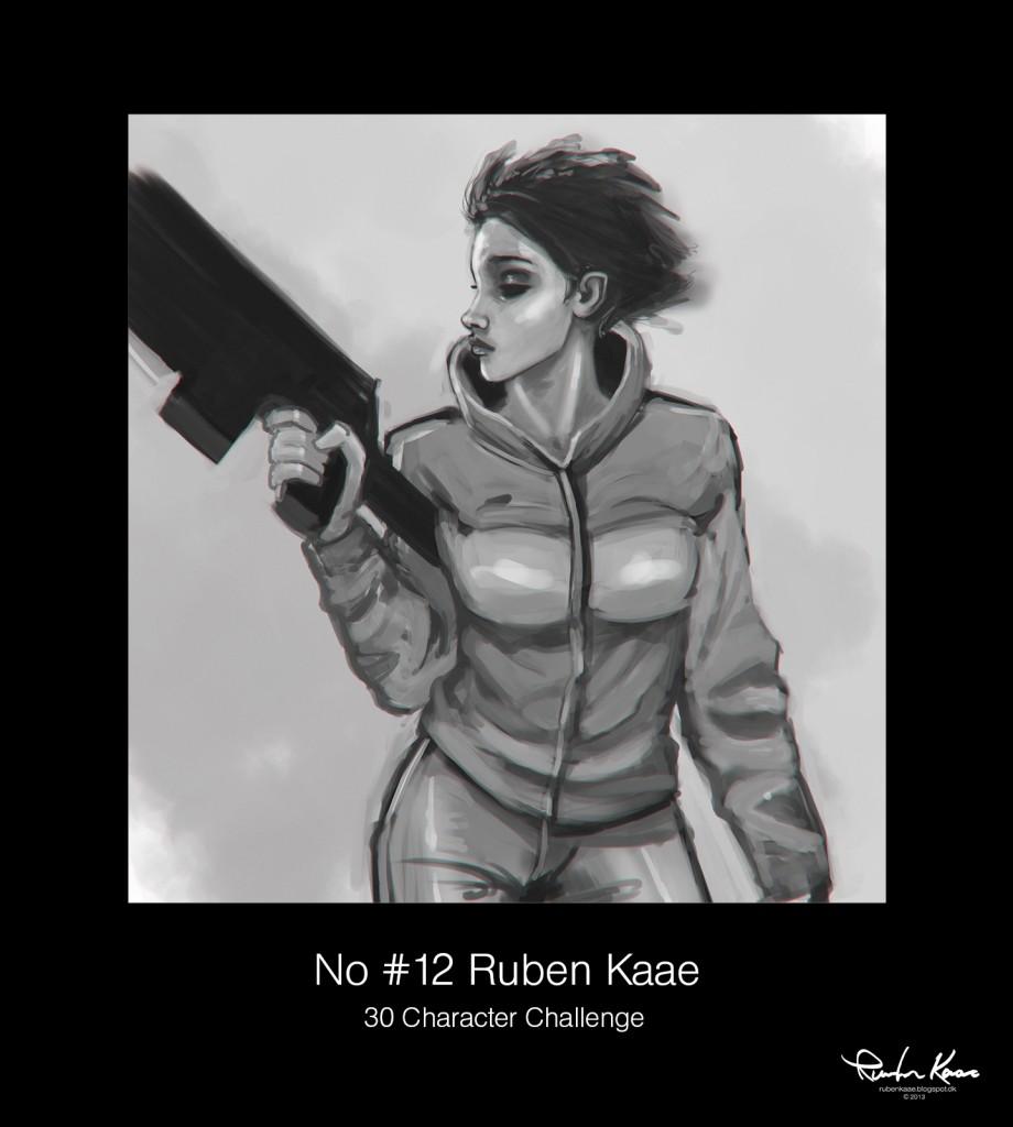 No #12 Ruben Kaae