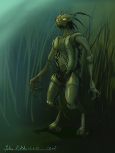 Insect humanoid
