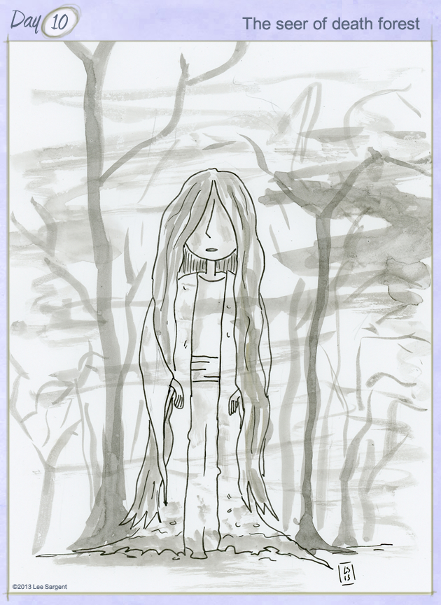 The seer of death forest