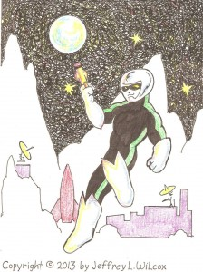 Max Pendragon is a space ranger stationed at Moon Base Alpha Green.